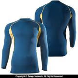 "93 Brand Standard Issue ""Royal Gold"" Grappling Rashguard"